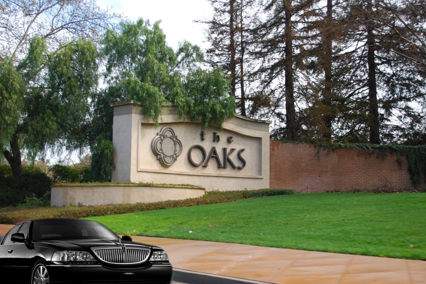Limousine at The Oaks, Thousand Oaks.