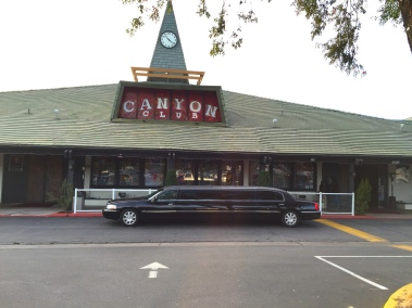 Limo at Canyon Club, Agoura Hills
