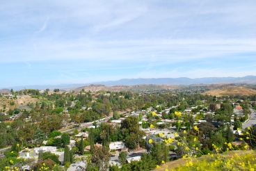 Overview of Wildwood Regional Park, Mount Clef Ridge in Thousand Oaks